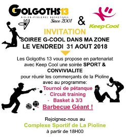 G-COOL EN BASKETS DANS MA ZONE