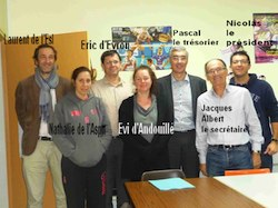 Le Groupement d'Employeurs Volley Ball de la Mayenne