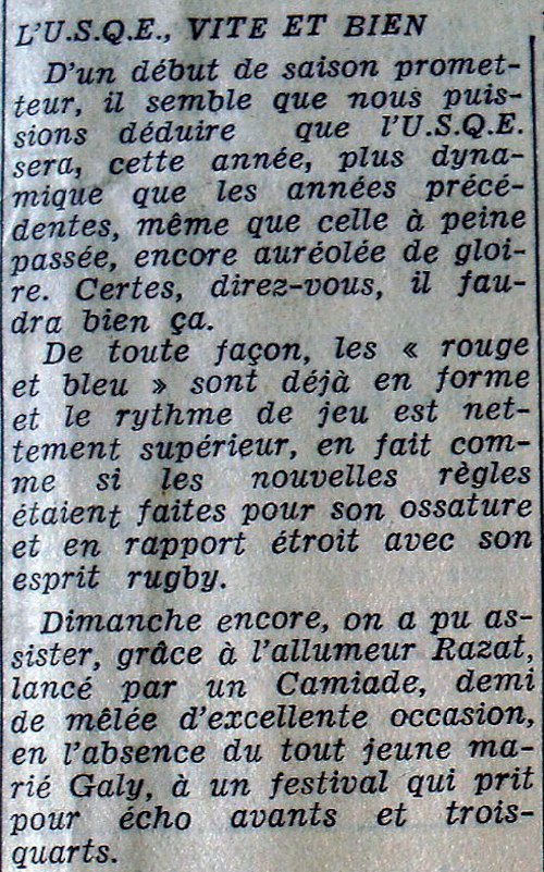 Rencontres amicales 64