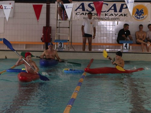 Ascap 25 cano kayak accueil for Piscine montbeliard