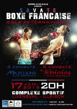 Gala international de savate boxe française d'Illkirch