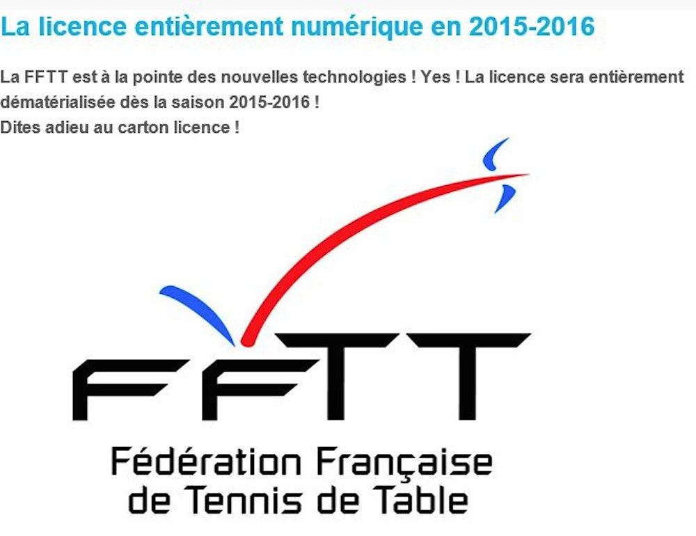 Tennis de table bl r val de cher accueil old - Federation francaise de tennis de table ...